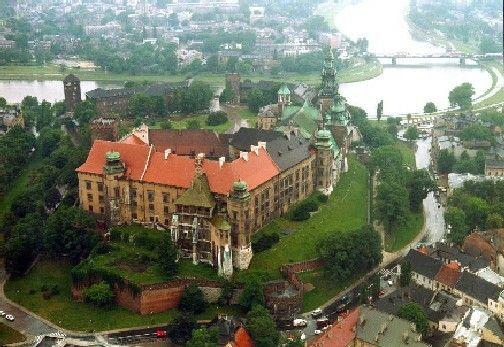 Castillo Wawel en Cracovia POLONIA