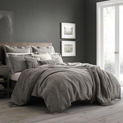 Wamsutta Vintage Paisley Linen Duvet Cover In Grey Duvet Cover Master Bedroom Luxury Bedding Master Bedroom Rustic Bedroom Decor