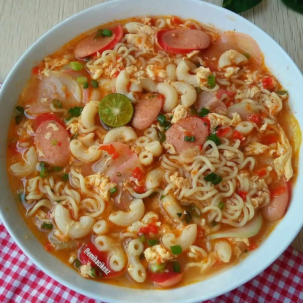 resep masakan sederhana  pemula instagram   resep masakan resep masakan jepang Resepi Macaroni Goreng Sinar Kehidupanku Enak dan Mudah
