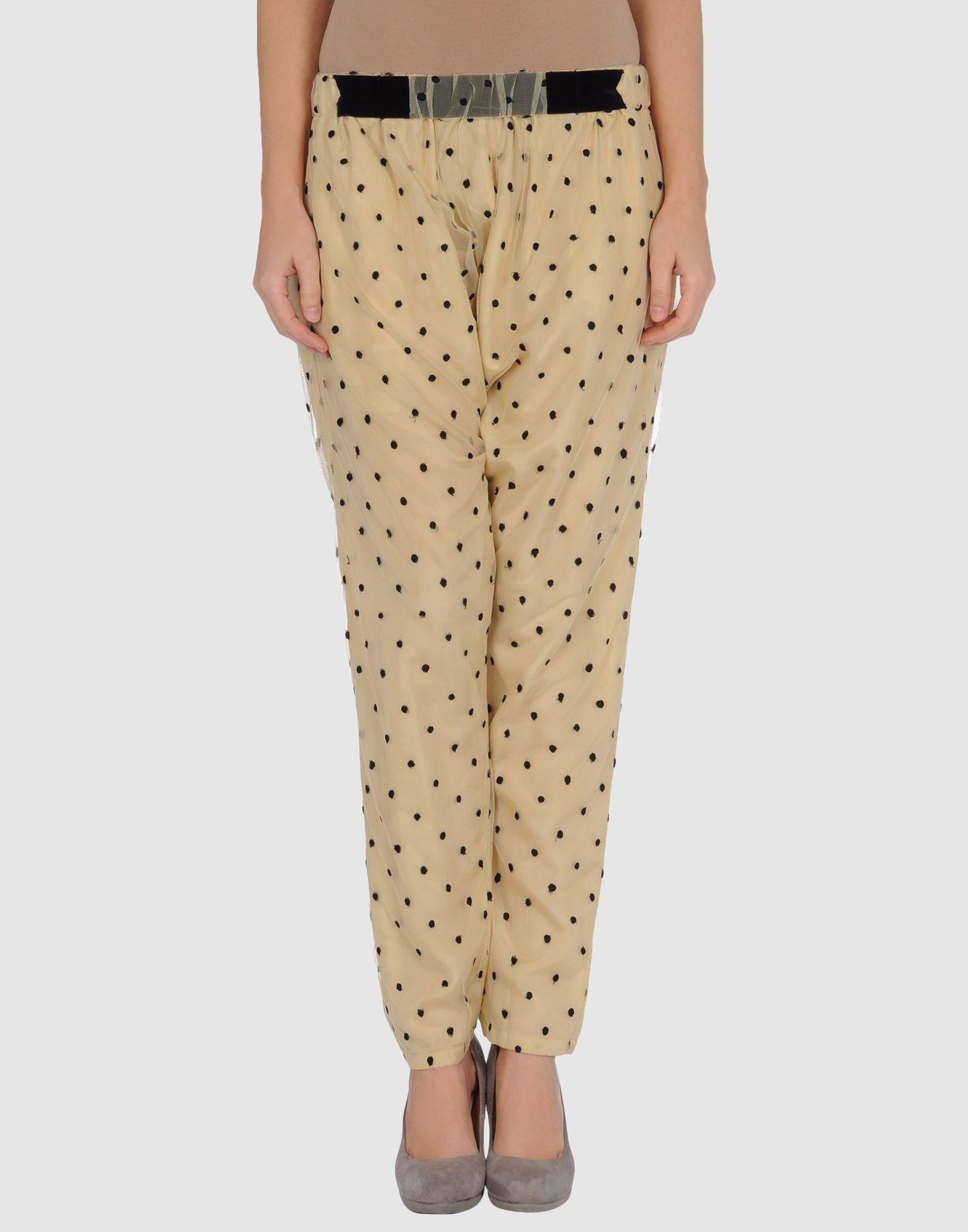 Dotted silk pants from Manoush. For those summer nights in the garden.