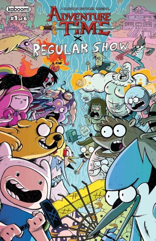 Adventure Time x Regular Show 1 Corona (kaboom