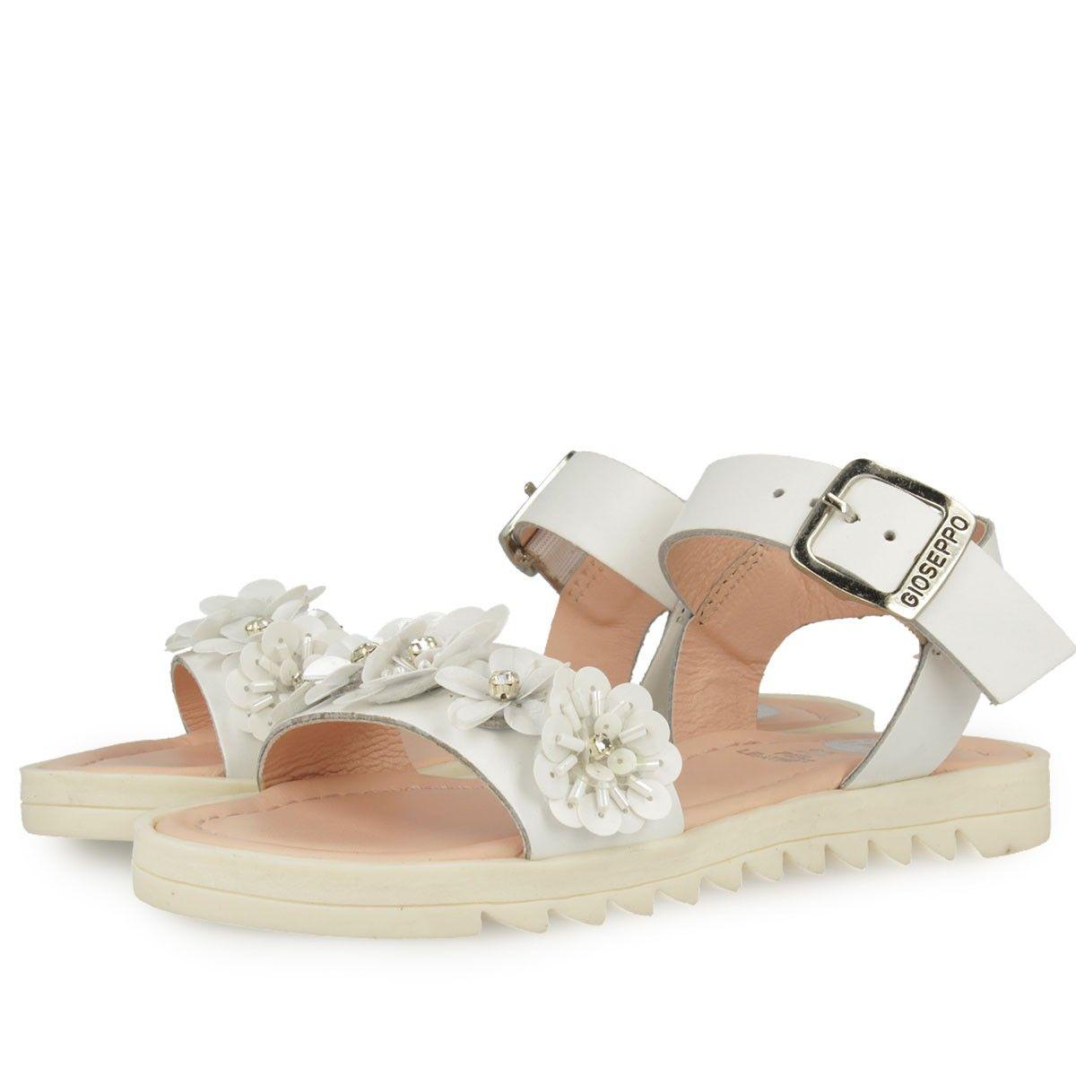 Zapatos blancos Gioseppo Acaena infantiles MWOLSe6oGN