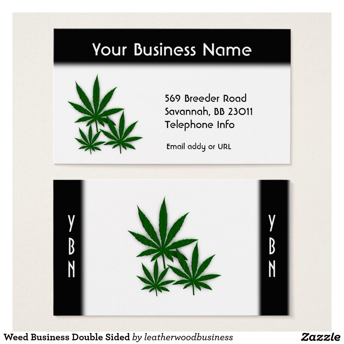 Weed business double sided business card weed pinterest weed business double sided business card magicingreecefo Choice Image