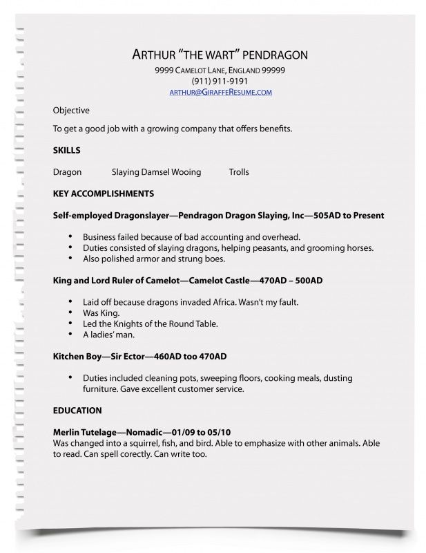 how write resume mshj yourmomhatesthis for job Home Design Idea - how do i type a resume