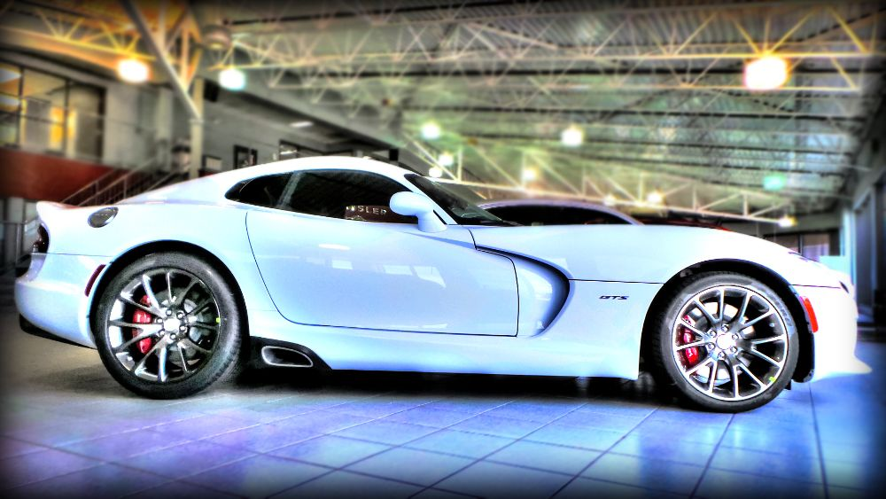 Bright White Srt Viper Now On Site And Available For Purchase