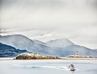 Majestuosa, Ushuaia despliega un encanto singular para descubrir y disfrutar a pleno de su nieve infinita. Foto: © Los Cauquenes Ushuaia S.A.