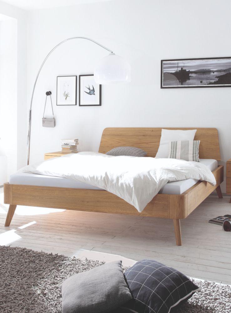 Bett mit Retro-Look: Hallo 50er und 60er Jahre! #bett #schlafzimmer ...