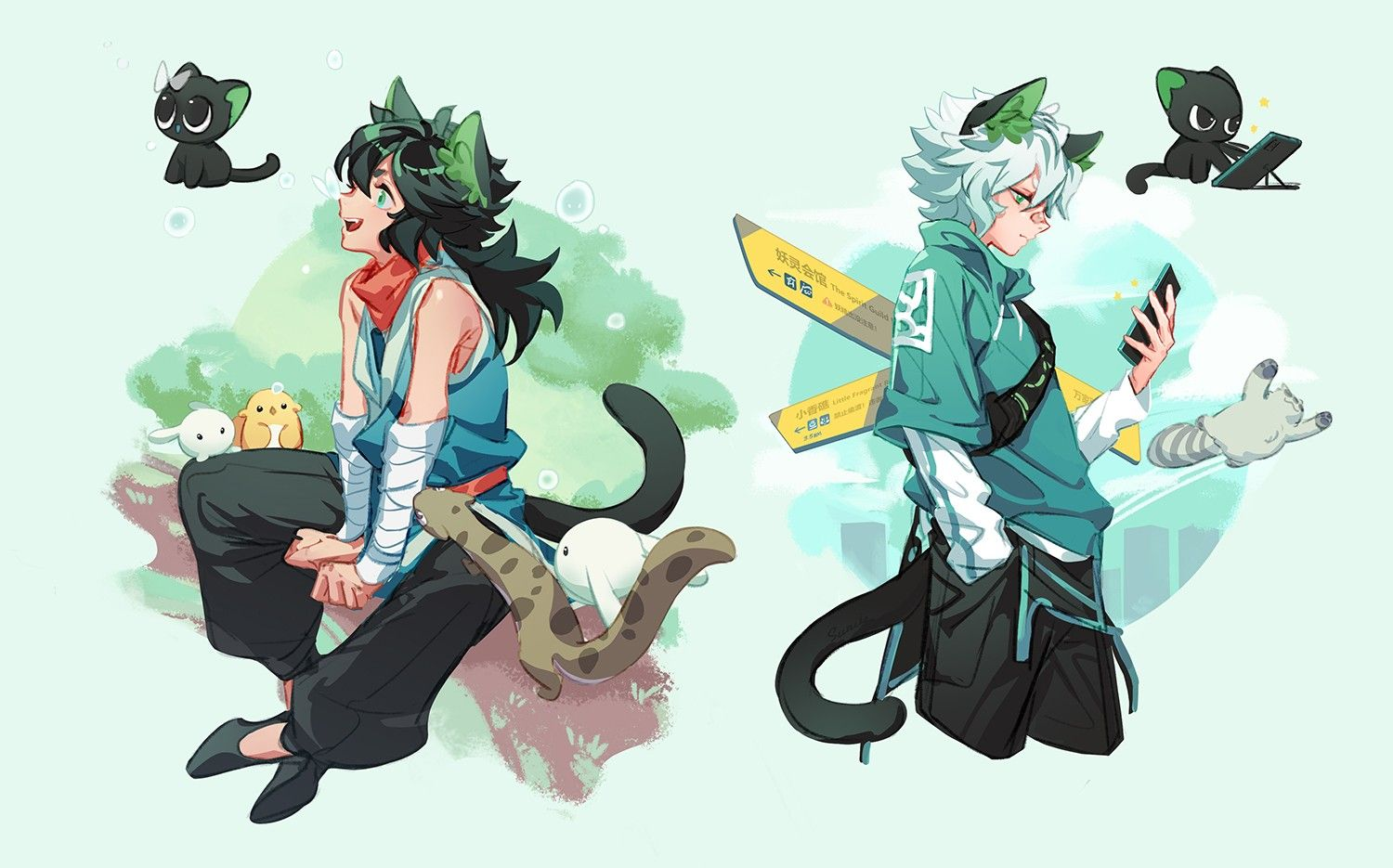 pin by ser rin on nong hei character art epic art character sketches