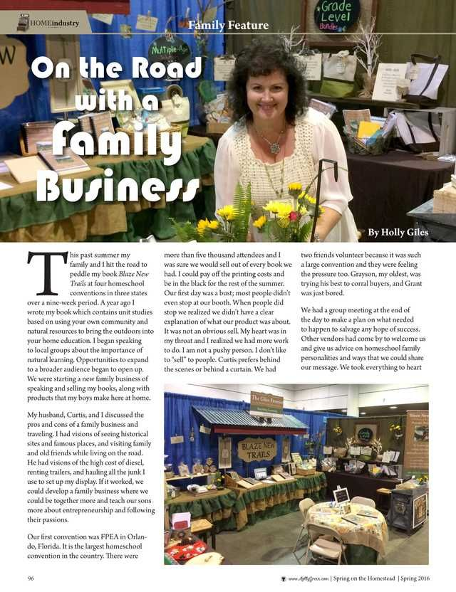On the Road with a Family Business By: Holly Giles--Molly Green - Spring 2016 - Page 96 http://www.mollygreenonline.com/mollygreen/spring_2016?pm=1&u1=texterity&linkImageSrc=/mollygreen/spring_2016/data/imgpages/tn/0070_uctarm.gif/&pg=97#pg97