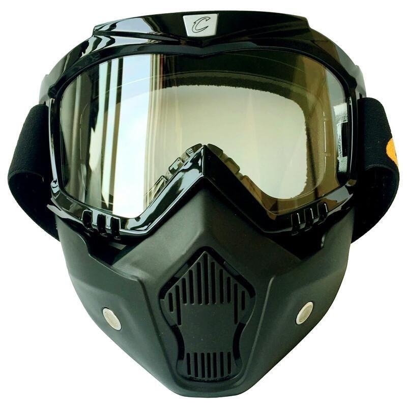 Bane mens ski mask goggles motorcycle goggles vintage