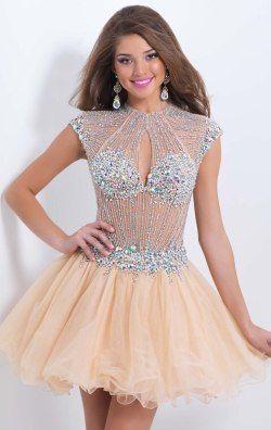 Open Back Dress by Blush by Alexia 9850