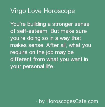 Virgo Love Horoscope
