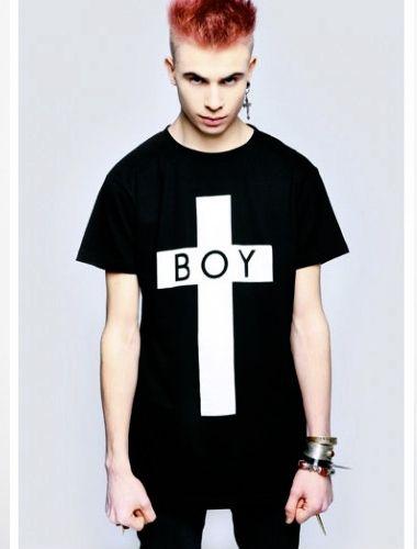 179.00 Playera Boy London Cross - Comprar en Jinx  8c050b9bfab57