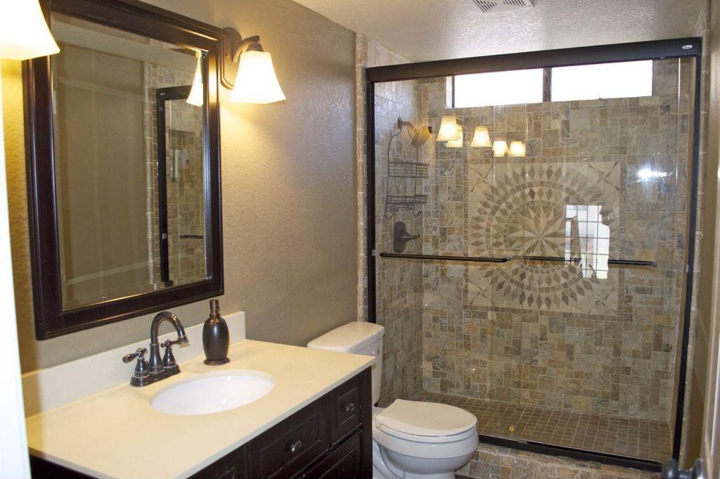 Mediterranean 34 Bathroom With Foremost Columbia 31 Bath Vanity