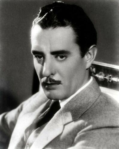 JOHN GILBERT silent film star 8x10 Black & White Studio Publicity Photo Print