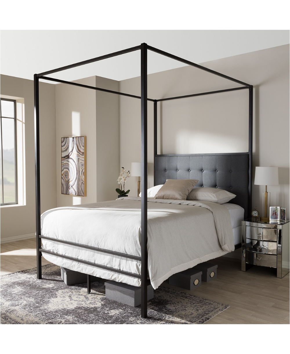 Furniture Eleanor Canopy Queen Bed & Reviews Furniture