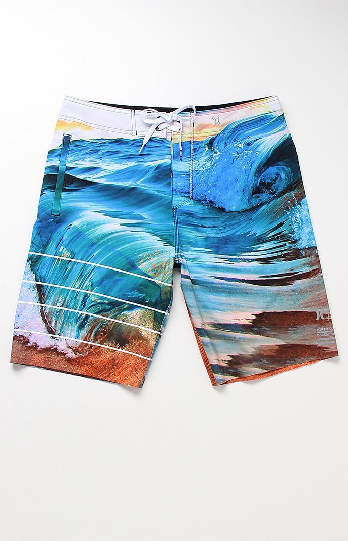 Hurley Board Shorts Phantom Clark Little Elasticated Waist Surf Hurley Swim