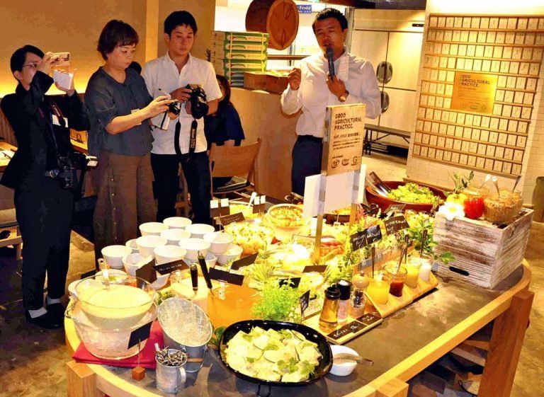 Japanese Restaurant Hosts Halal Food Fair For 2020 Olympics About Islam Halal Recipes Food Fair Halal