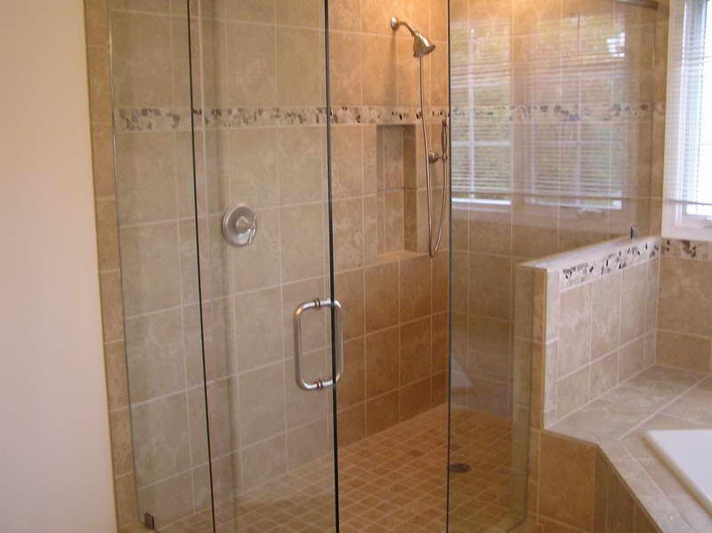 Tile Showers With Glass Doors. Shower Tile  Designs Ideas article which is assigned within Bathroom Glass DoorsBathroom