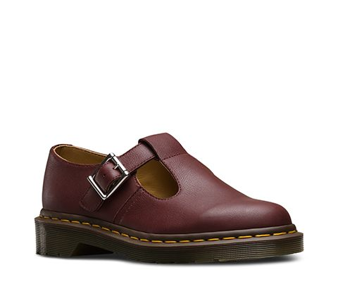 Dr. Martens Polley de mujer Mary Jane plana ouuuV