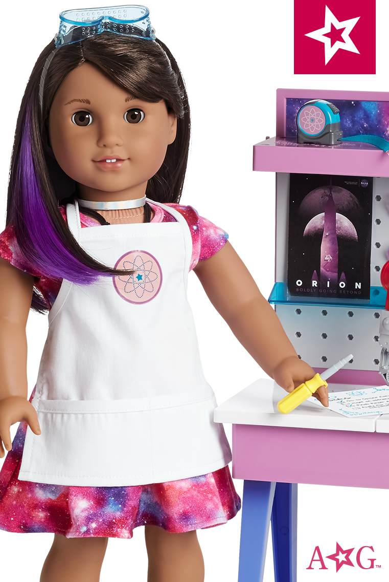"""American Girl Luciana Vega Doll and Book NEW 18/"""" GOTY 2018 Girl of the Year"""