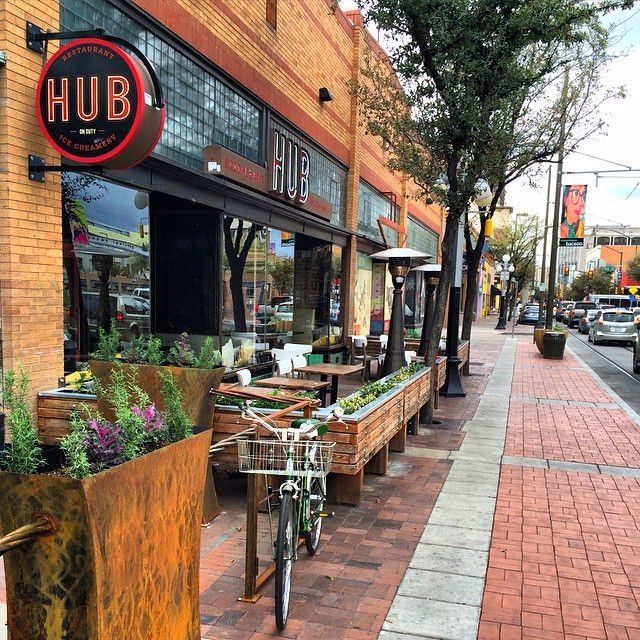Hub Restaurant Ice Creamery In Tucson Arizona Offers Genuine Made Here Fare With A Menu That Takes Its Cue From The Look And Feel Of Historic