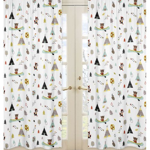 Found it at Wayfair - Outdoor Adventure Window Treatments Panel