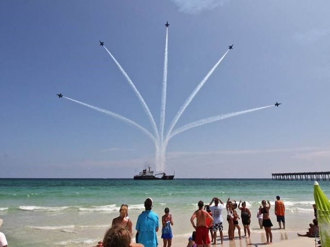 Reader Submitted Photos Blue Angels Pensacola Beach Air Show