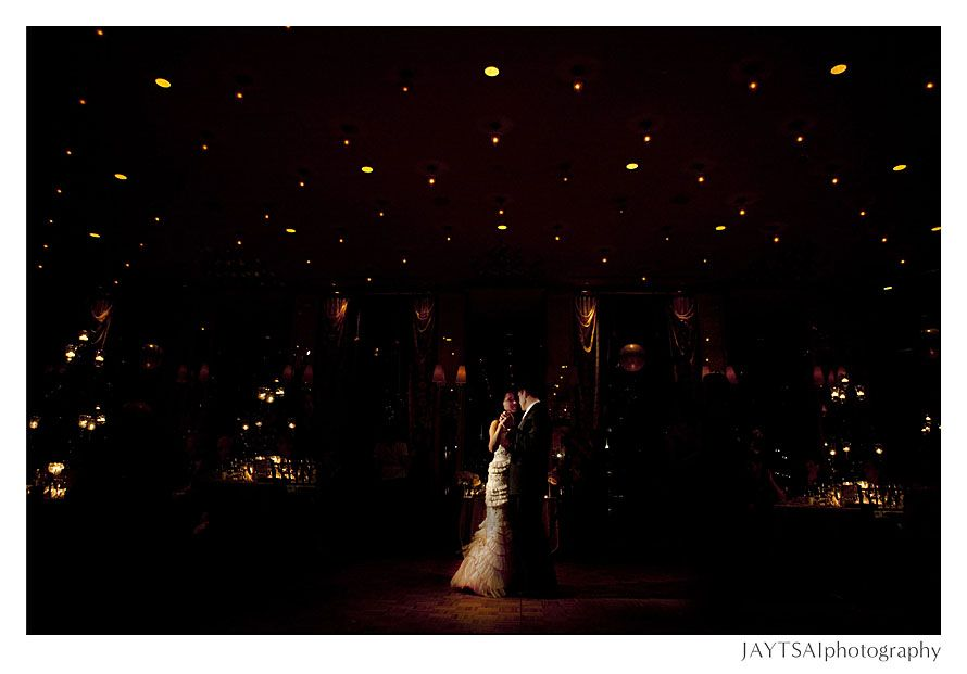 Starry night... in doors. Congrats Gina and Brian.