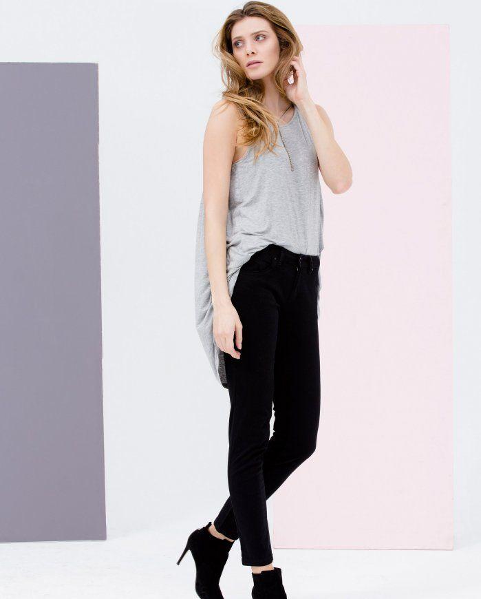 745dc32a7e Spodnie damskie jasny jeans - Promod