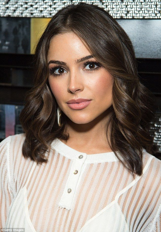 Olivia Culpo Captivates In See-Through White Top At Style -6722