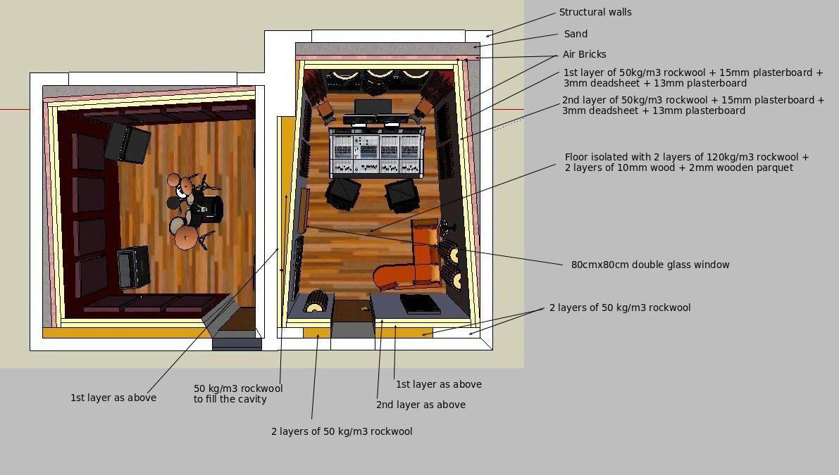 Small Professional Home Recording Studio In Italy Gearslutz Com Recording Studio Design Home Recording Studio Home Studio Music