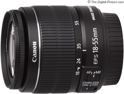 Canon Ef S 18 55mm F 3 5 5 6 Is Ii Lens Review Canon Ef Slr Lens Canon