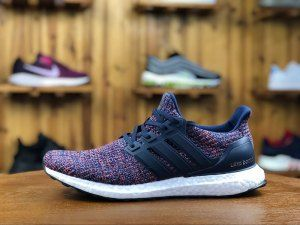 884463be53a Mens Adidas Ultra Boost Navy Multicolor BB6165 Running Shoes ...
