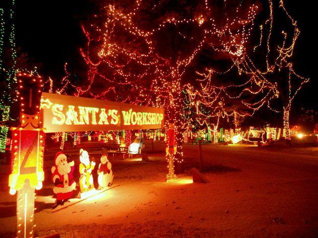 Drive Through Christmas Lights.Wisconsin Christmas Carnival Of Lights 1 Mile Drive