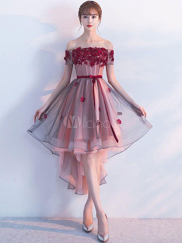 2019 Trendy Prom Dresses #spitzeapplique