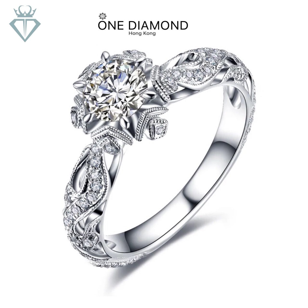 Pin by 一鑽香港店 on one diamond 一鑽 Colored engagement rings