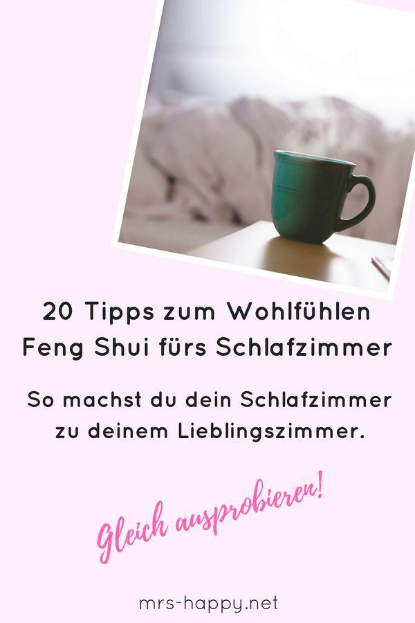 Feng Shui Tipps für dein Schlafzimmer. Hole dir 20 Tipps, wie du aus ...