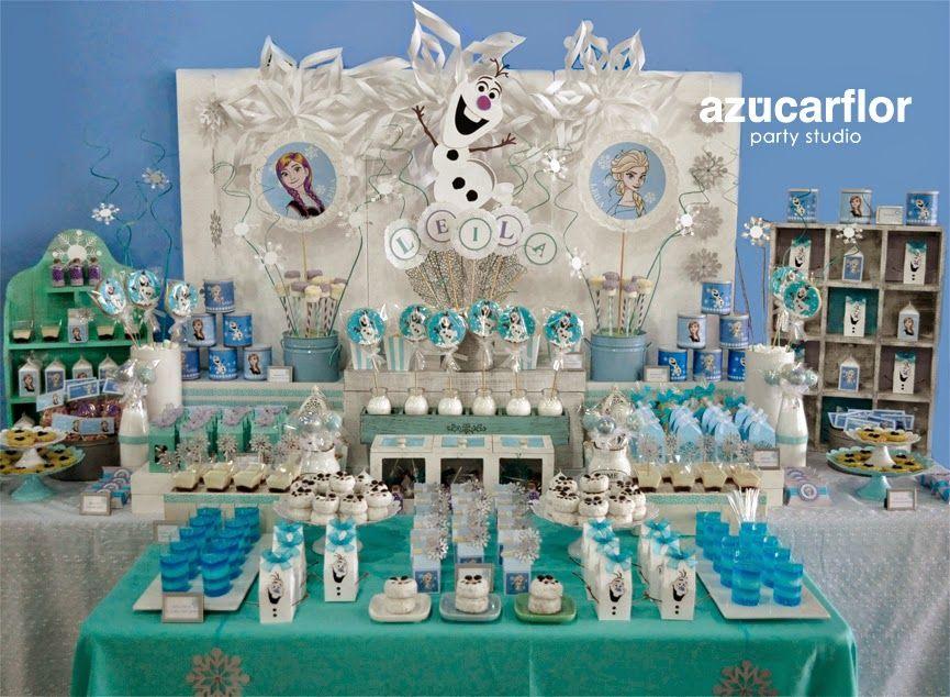 mesas dulces caramelo hielo fiestas infantiles cuadro postres bautizo congelado cumpleaos