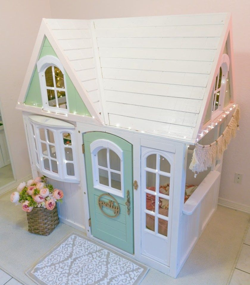 Whimsical Costco Playhouse Hack – Katie Carson