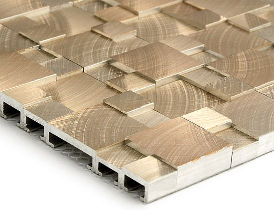 Soli Architectural Surfaces Aluminum Mosaic Mosaic Tiles Textured Walls Tile Patterns