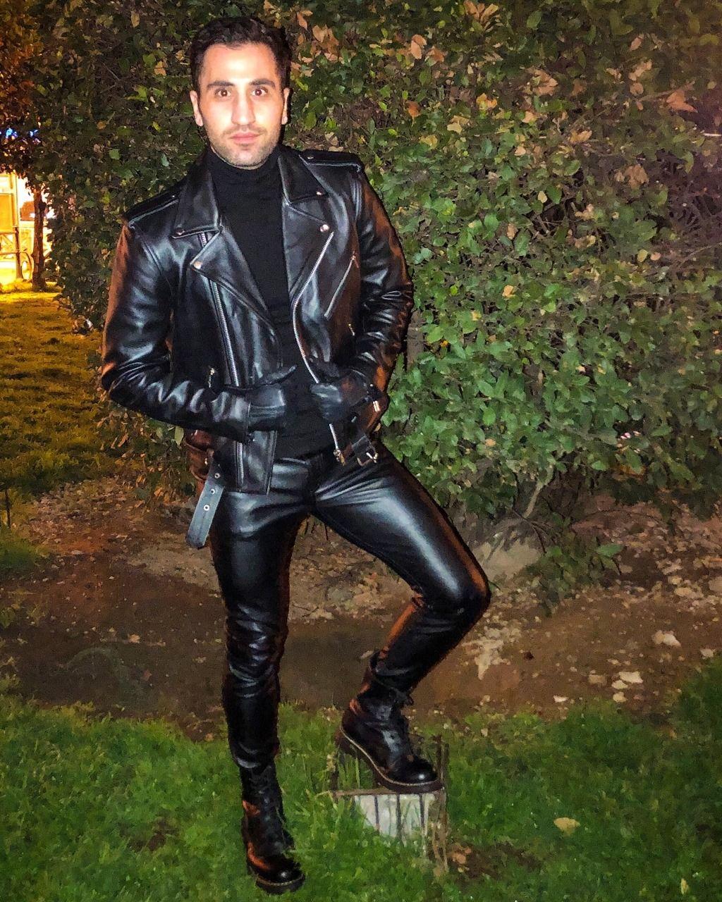 Instalike Instaboy Instafashion Fashion Style Leatherpants Leatherjeans Leathergear Leatherfetis Tight Leather Pants Leather Pants Leather Jacket Men [ 1280 x 1024 Pixel ]