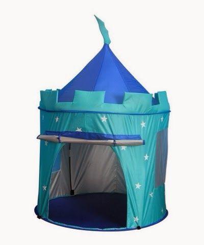 Shop Childrens Pop Up Castle - Suitable for Indoor u0026 Outdoor Use  Boys Blue Toy Play Tent / Playhouse / Den. & Popit pop up blue castle tent £32.99 | Henry u0026 William | Pinterest ...