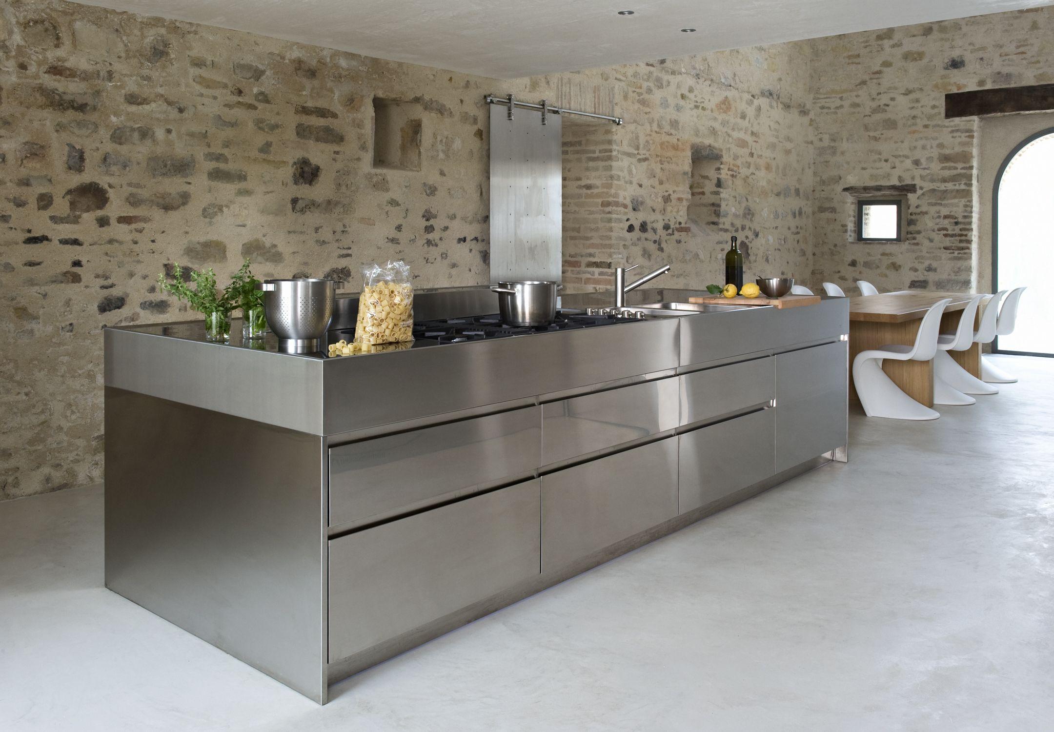 Arclinea keuken in keuken rvs keuken en