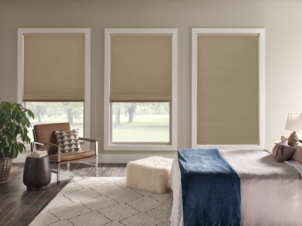 Home Decorators Collection Cordless Blackout Cellular Shades Blackout Cellular Shades Cellular Shades Master Bedroom Window Treatments