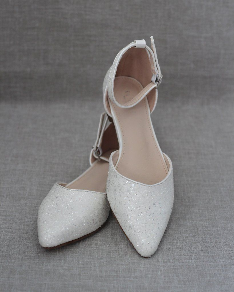 39+ White wedding flats with ankle strap info