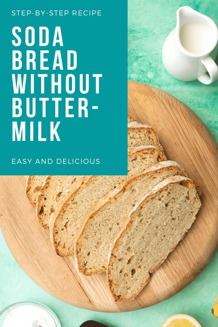 Soda bread recipe without buttermilk | Recipe | Soda bread ...