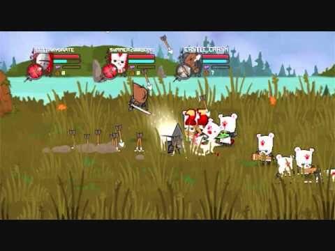 Castle Crashers White Bear Boss Castle Crashers White Bear Castle