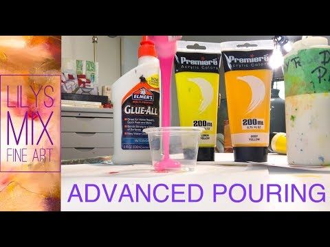 COMPLETE TUTORIAL ACRYLIC POURING EXPLAINED. - YouTube