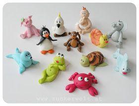 ZUCKERWELT: close-up detailed pictures of each figurine